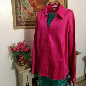 Womens size large long sleeve blouse